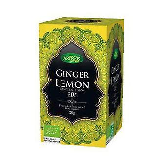 Herbata z imbirem i cytryną (bez teiny) 20 saszetki