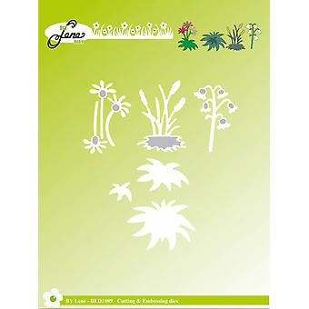 By Lene Cutting & Embossing Dies Garden Flowers