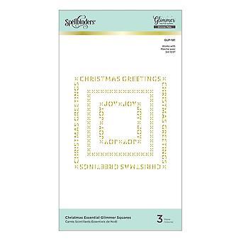 Joulun välttämättömät glimmer-neliöt Glimmer Hot Foil Plates (GLP-181)