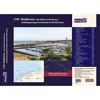 Imray 2150 Waddenzee  Den Helder to Norderney Chart Atlas 2020 by Imray