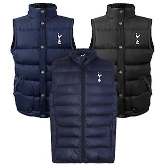 Tottenham Hotspur Mens Gilet Jacket Body Warmer Padded OFFICIAL Football Gift