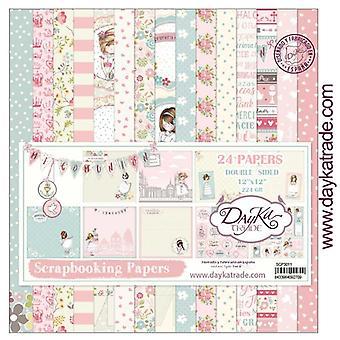 DayKa Trade Mi Comunión Niña 12x12 Inch Paper Pack
