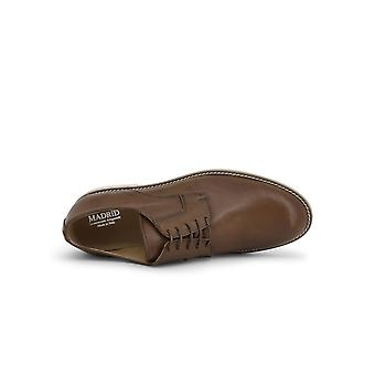 Madrid - Shoes - Lace-up shoes - 604_PELLE_MARRONE - Men - saddlebrown - EU 42