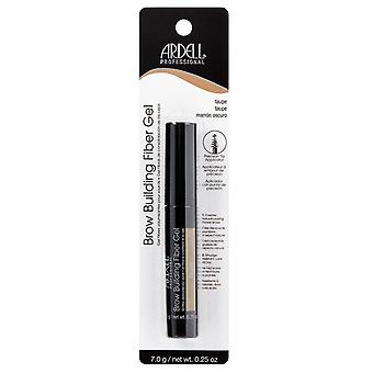 Ardell Professional Brow Building Fibre Gel in Taupe - Smudge Resistant Formula