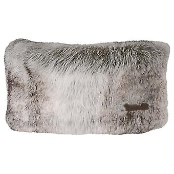 Barth Mesdames fourrure Polyester acrylique bandeau bandeau brun