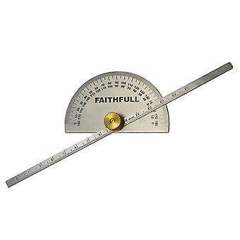 Jauge de profondeur fidèle avec Protractor 150mm (6in) FAIGAUGEDEPT