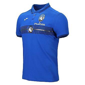 2020-2021 Atalanta Polo Shirt (Blauw)