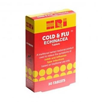 HRI - HRI Cold & Flu Echinacea 75mg THR - R