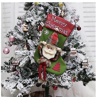 Christmas Stocking Christmas Stocking-Santa Claus