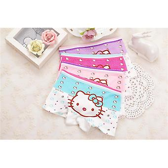 Cartoon Underpants Baby Boxer Underwear Cotton Panties Calcinhas Infantis 2-9