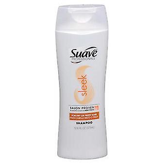 Suave Professionals Sleek Shampoo, 12.6 oz