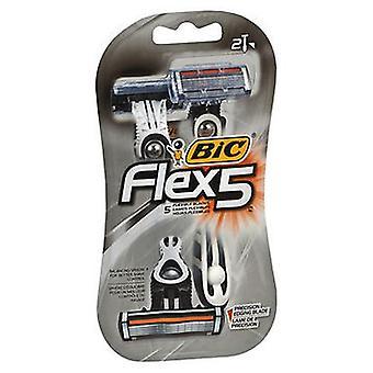 Bic فليكس 5 شفرات الحلاقة، 2 لكل