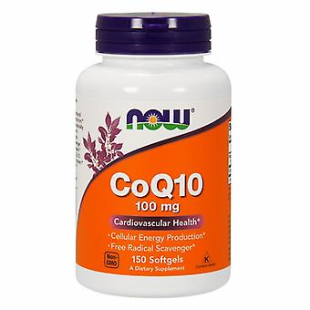 Now Foods CoQ10, 100 mg, 150 Sgels