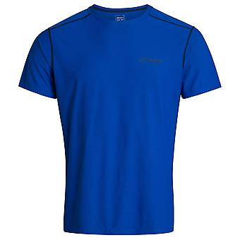 Berghaus Lapis Blue Mens 24/7 tekninen paita lyhythihainen miehistö
