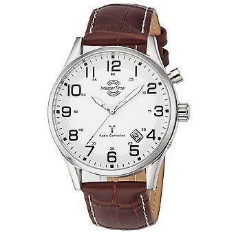 Mens Watch Master Time MTGS-10552-12L, Quartz, 43mm, 10ATM