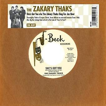 Zakary Thaks - She's Got You/the Zakary Thaks Sing for Jax Beer [Vinyl] USA import