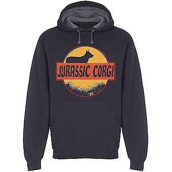 Jurassic Corgi Hoodie Men's -Image by Shutterstock