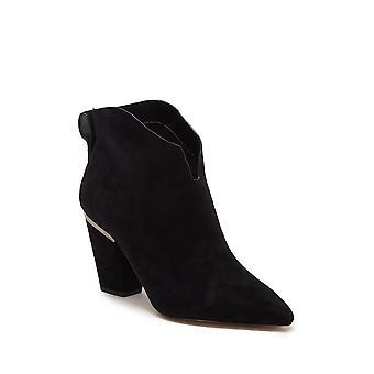 1.STATE Womens Corben Stoff Spitz zehen Knöchel Mode Stiefel