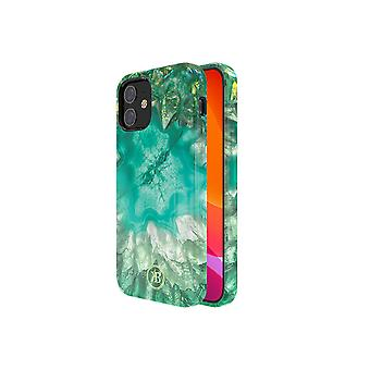 iPhone 12 Mini Case Green - Crystal