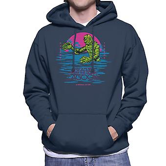 The Creature From The Black Lagoon Horror Terror Men's Hooded Sweatshirt