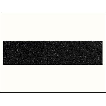 Fablon 45cm x 1m Velour Black FAB10010