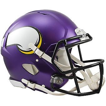 Riddell Speed Auténtico Casco Original NFL Minnesota Vikings