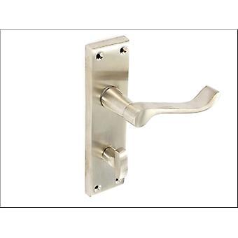Securit Scroll Bath Handles Nickel 150mm S2722