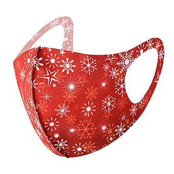 Anti-fog Mask Face Mask Christmas Snowflake Dust Masks Protective Covering for Kids Aldult Washable Reusable
