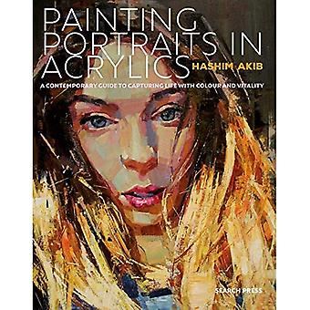Painting Portraits in Acrylic