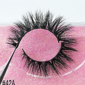 Multi-layered False Eyelashes-natural, Thick And Reusable