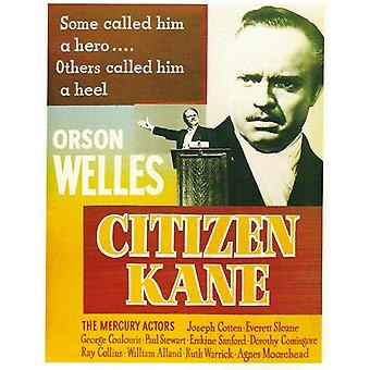 Citizen Kane film plakat (11 x 17)