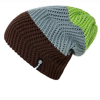 Pălării de iarnă snowboard, schi rezistent la vânt, casual cald, pălărie tricotată de capote
