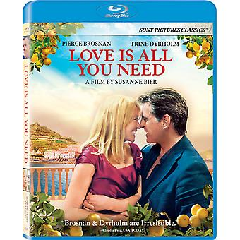 Importer des USA de l'amour est All You Need [BLU-RAY]