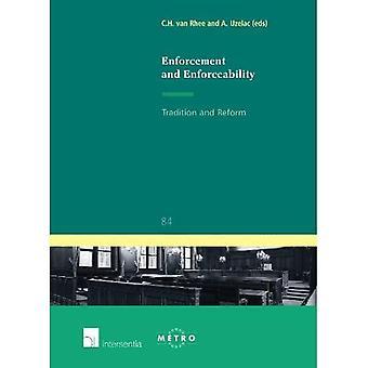 Enforcement and Enforceability