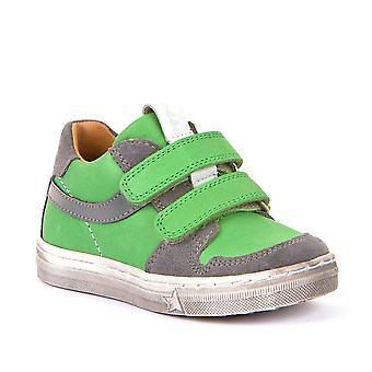 FRODDO Double Velcro Leather Shoe Green