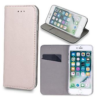 Samsung Galaxy A42 5G - Älykäs magneettinen mobiililompakko - Rose Gold