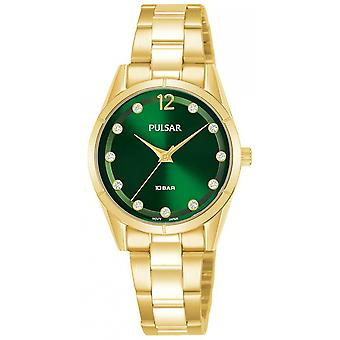 Casual press watch for Analog Quartz Woman with stainless steel bracelet PH8508X1