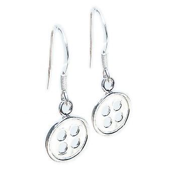 Bottone Piccoli orecchini in argento sterling .925 X1 Paio Bottoni Gocce