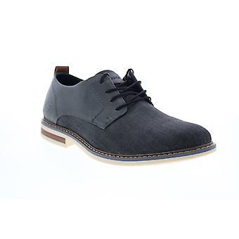 Skechers Bregman Rito  Mens Gray Canvas Plain Toe Oxfords Shoes