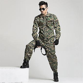 軍服戦術迷彩戦闘特殊部隊兵士訓練