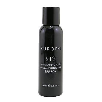 S12 long lasting fluid global protection spf 50 (water resistant) 259019 100ml/3.4oz