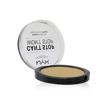 NYX Can't Stop Won't Stop Powder Foundation - # Beige 10.7g/0.37oz