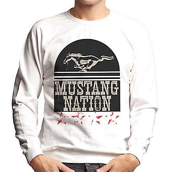 Ford Mustang Nation Men's Sudadera