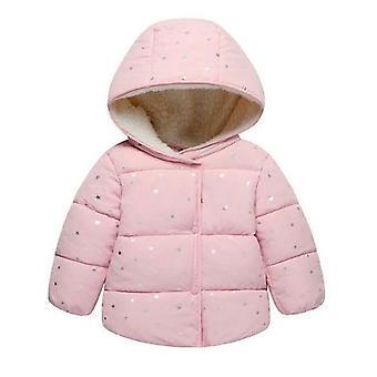 سترة الشتاء الخريف لمعطف الملابس الخارجية الدافئة مقنعين
