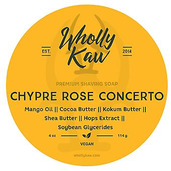 Chypre Rose Concerto Shave Soap