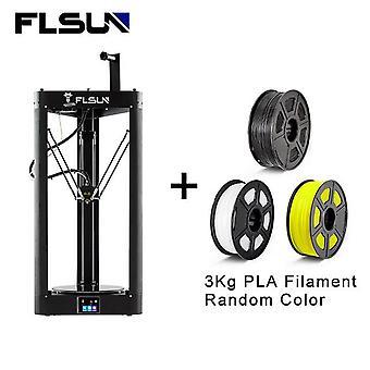 Flsun 3d printer qq-s-pro auto leveling sensor pre-assembly titan extruder tft 32 bits boards drukarka