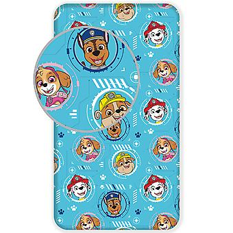 Paw Patrol Single Fitted Sheet