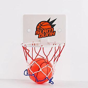 Plast Basket Board Box Net Set, Backboard Hoop Mini Netball