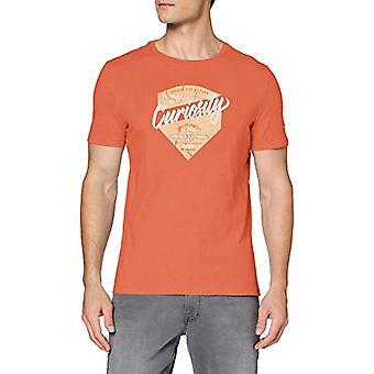 camel active H-t-Shirt 1/2 Arm, Orange (Orange Core 42), XX-Large Men