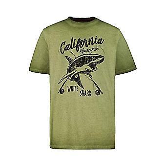 JP 1880 Gro and Gro en T-Shirt Cool Dye Fishing, Turquoise (Moss 72669246), L Man
